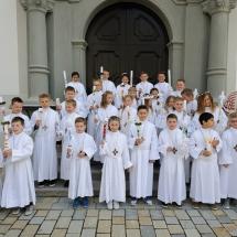 Erstkommunion in St. Peter
